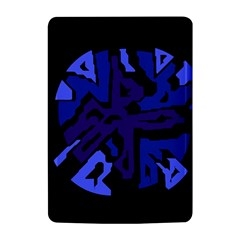 Deep blue abstraction Kindle 4