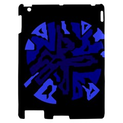 Deep blue abstraction Apple iPad 2 Hardshell Case