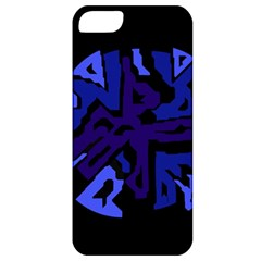 Deep blue abstraction Apple iPhone 5 Classic Hardshell Case
