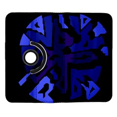 Deep blue abstraction Samsung Galaxy Note II Flip 360 Case