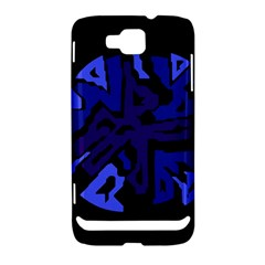 Deep blue abstraction Samsung Ativ S i8750 Hardshell Case