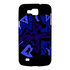 Deep blue abstraction Samsung Galaxy Premier I9260 Hardshell Case
