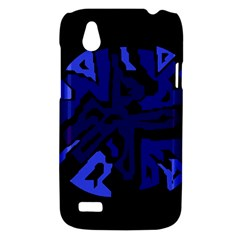 Deep blue abstraction HTC Desire V (T328W) Hardshell Case