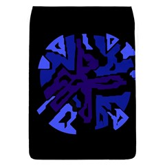 Deep blue abstraction Flap Covers (L)