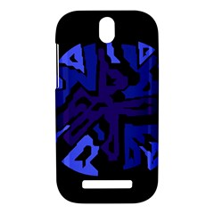 Deep blue abstraction HTC One SV Hardshell Case