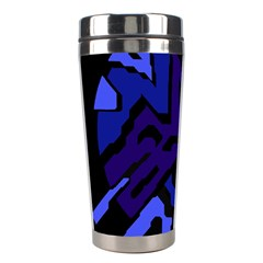 Deep blue abstraction Stainless Steel Travel Tumblers