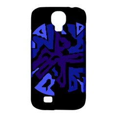 Deep blue abstraction Samsung Galaxy S4 Classic Hardshell Case (PC+Silicone)