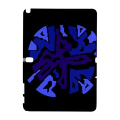 Deep blue abstraction Samsung Galaxy Note 10.1 (P600) Hardshell Case