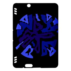 Deep blue abstraction Kindle Fire HDX Hardshell Case
