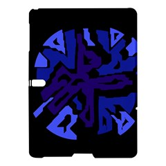 Deep blue abstraction Samsung Galaxy Tab S (10.5 ) Hardshell Case
