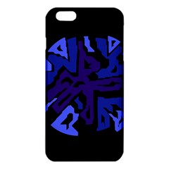 Deep blue abstraction iPhone 6 Plus/6S Plus TPU Case