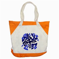 Deep blue abstraction Accent Tote Bag