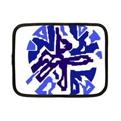 Deep blue abstraction Netbook Case (Small)