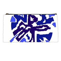 Deep blue abstraction Pencil Cases