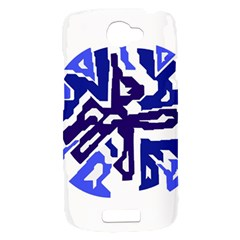 Deep blue abstraction HTC One S Hardshell Case