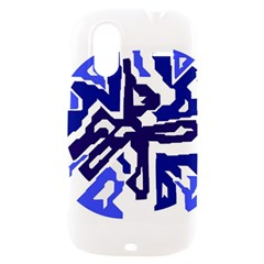 Deep blue abstraction HTC Amaze 4G Hardshell Case