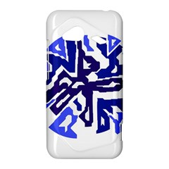 Deep blue abstraction HTC Droid Incredible 4G LTE Hardshell Case
