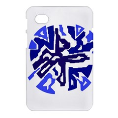 Deep blue abstraction Samsung Galaxy Tab 7  P1000 Hardshell Case
