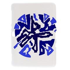 Deep blue abstraction Samsung Galaxy Tab 8.9  P7300 Hardshell Case