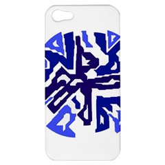 Deep blue abstraction Apple iPhone 5 Hardshell Case