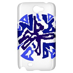 Deep blue abstraction Samsung Galaxy Note 2 Hardshell Case