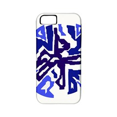 Deep blue abstraction Apple iPhone 5 Classic Hardshell Case (PC+Silicone)