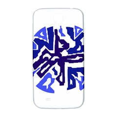 Deep blue abstraction Samsung Galaxy S4 I9500/I9505  Hardshell Back Case