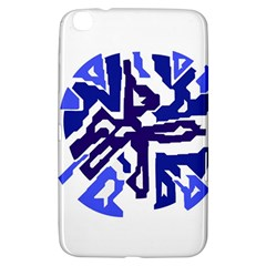 Deep blue abstraction Samsung Galaxy Tab 3 (8 ) T3100 Hardshell Case