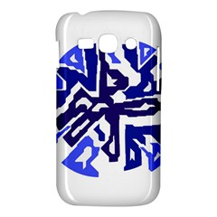 Deep blue abstraction Samsung Galaxy Ace 3 S7272 Hardshell Case