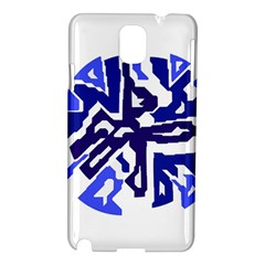 Deep blue abstraction Samsung Galaxy Note 3 N9005 Hardshell Case