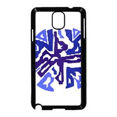 Deep blue abstraction Samsung Galaxy Note 3 Neo Hardshell Case (Black)