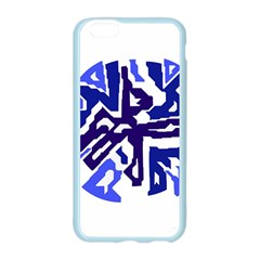 Deep blue abstraction Apple Seamless iPhone 6/6S Case (Color)