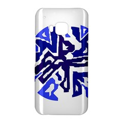 Deep blue abstraction HTC One M9 Hardshell Case