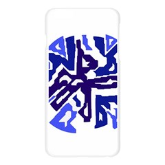 Deep blue abstraction Apple Seamless iPhone 6 Plus/6S Plus Case (Transparent)