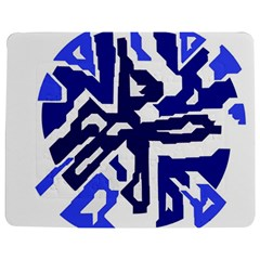 Deep Blue Abstraction Jigsaw Puzzle Photo Stand (rectangular)