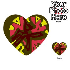 Abstraction Multi-purpose Cards (Heart)