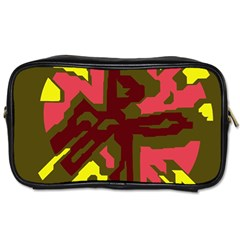 Abstraction Toiletries Bags 2-Side