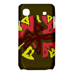 Abstraction Samsung Galaxy SL i9003 Hardshell Case