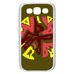 Abstraction Samsung Galaxy S III Case (White)
