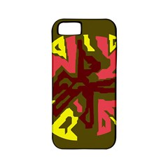 Abstraction Apple iPhone 5 Classic Hardshell Case (PC+Silicone)