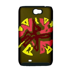 Abstraction Samsung Galaxy Note 2 Hardshell Case (PC+Silicone)