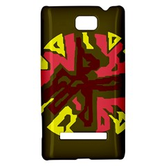 Abstraction HTC 8S Hardshell Case