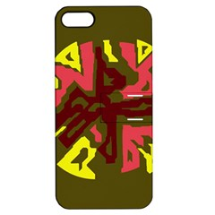 Abstraction Apple iPhone 5 Hardshell Case with Stand