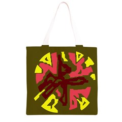 Abstraction Grocery Light Tote Bag