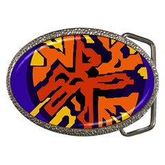 Orange ball Belt Buckles