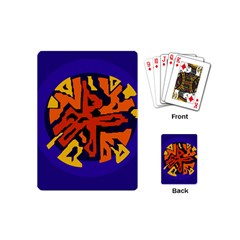 Orange ball Playing Cards (Mini)