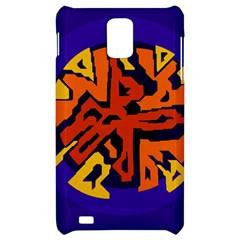 Orange ball Samsung Infuse 4G Hardshell Case
