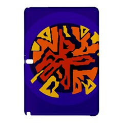 Orange ball Samsung Galaxy Tab Pro 10.1 Hardshell Case
