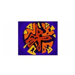 Orange ball Satin Wrap