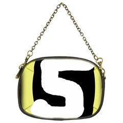 Number five Chain Purses (Two Sides)